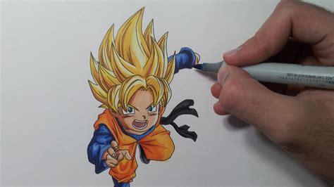 How To Draw Goten Vs Trunks
