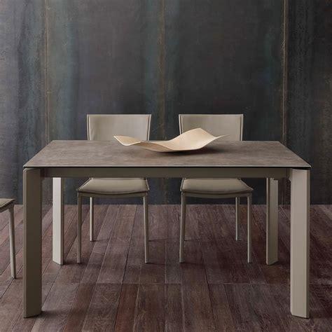 tavoli ceramica tavolo allungabile moderno con piano in vetro ceramica