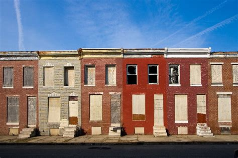 photos of baltimore row houses urban decay the new millennial