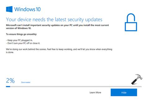most up to date windows 10 version most up to date windows 10 version fix your device needs the security updates in