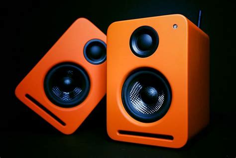 coolest speakers nocs ns2 air monitors desktop speakers boast airplay and serious power