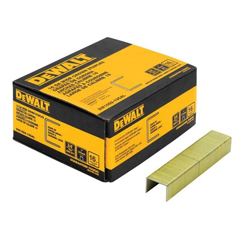staples makemorehappen house seven design build dewalt 3 4 in x 16 gauge galvanized staple 2000 per box