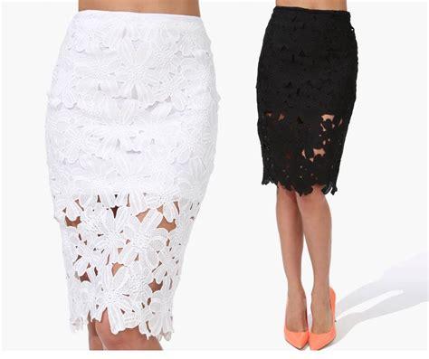 imagenes faldas blancas faldas blancas de encaje 3