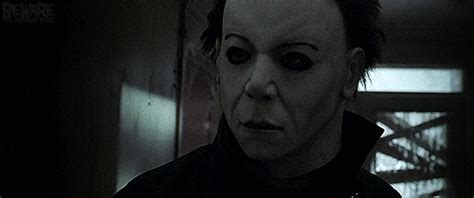 scary animated halloween gifs confused michael myers gif find share on giphy
