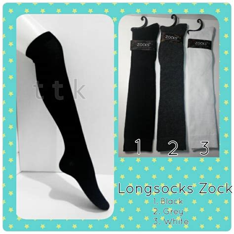 Kaos Kaki Belang Remaja Lusinan jual kaos kaki panjang kaos kaki selutut socks remaja dewasa toko tiga lebih murah