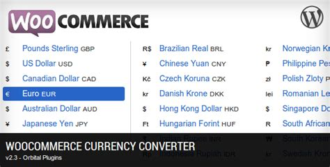 currency converter woocommerce 33 essential woocommerce plugins