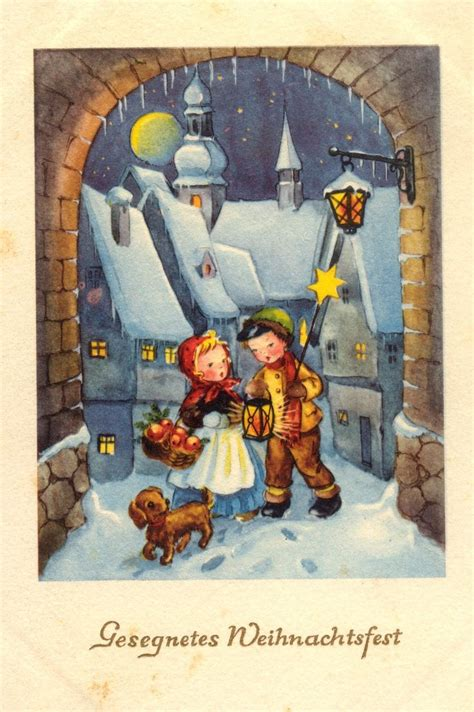 images  vintage cards germany  pinterest christmas angels mother mary  xmas