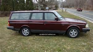 1993 Volvo 240 Wagon 1993 Volvo 240 Classic Wagon Limited Edition 7 0f 1600