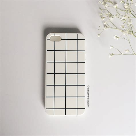 grid pattern phone case white grid phone case 183 static sound 183 online store