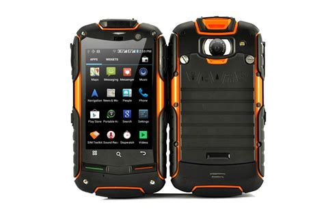 Rugged Android Phones by Fortis Evo Rugged Gps Android 4 0 Phone With 3 2 Inch