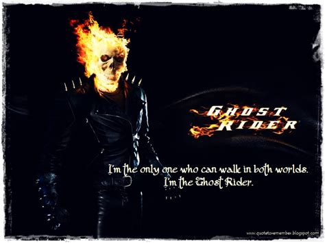 ghost film phrases ghost rider quotes quotesgram