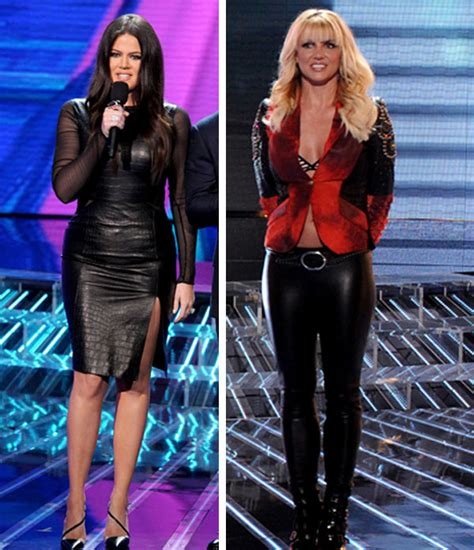 Who Wore Jovani Better Carrie Underwood Or Khloe by V Khloe Who Wore Leather