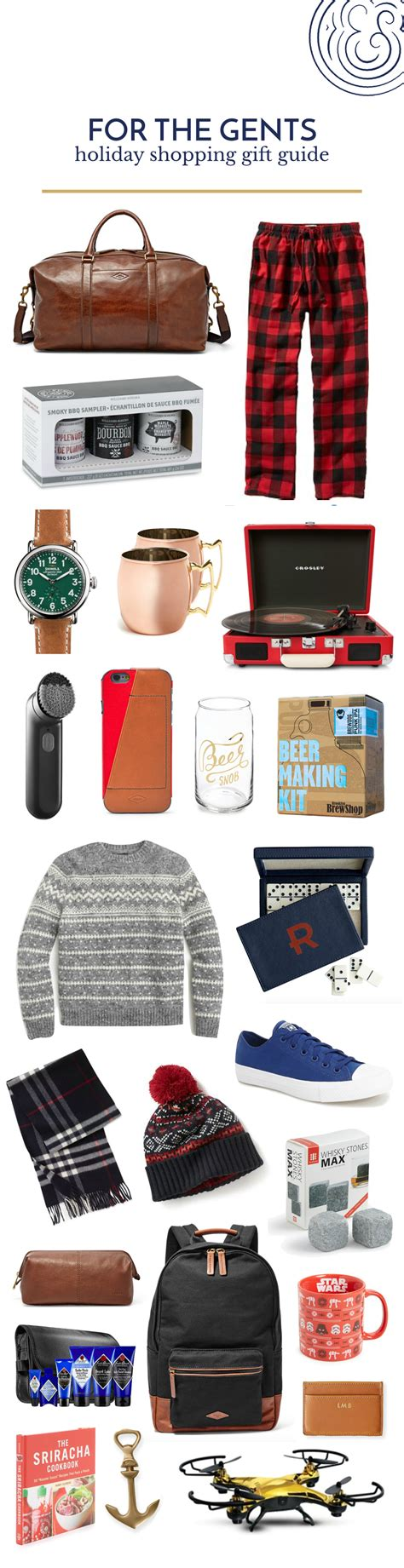 gift guide for the gents pretty fun