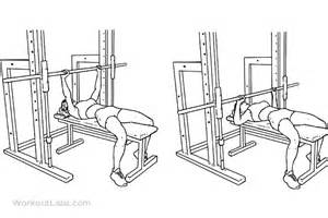 smith machine chest press smith machine chest press illustrated exercise guide