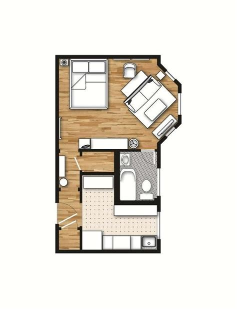 studio apartment plan 400 sq ft layout with a creative floor plan actual
