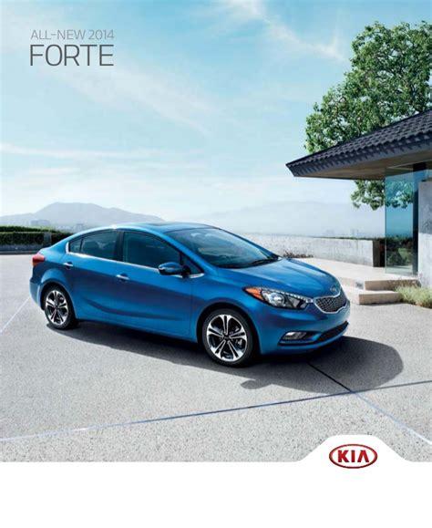 2014 Kia Forte Key 2014 Kia Forte Sedan Brochure Key Auto El