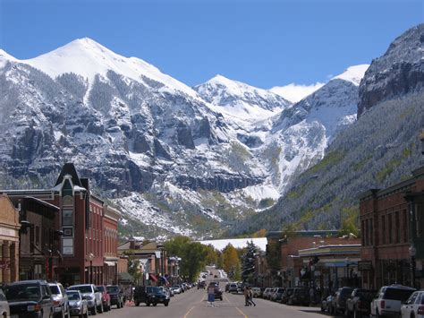of colorado kickoff the holidays in telluride colorado with the 2012