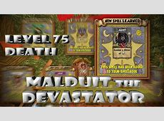 Wizard101 Malduit the Devastator: Death Minion Level 75 ... Wizard101 Sign Up Free