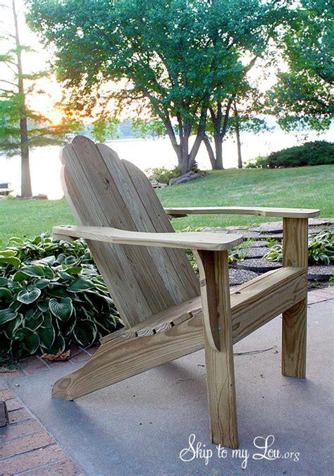 free adirondack chair plan printable skip to my lou