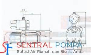Mesin Pompa Booster Multistage Wasser Pbmh60 4ea multistage sentrifugal booster 650 watt pbmh60 4ea sentral pompa solusi pompa air rumah
