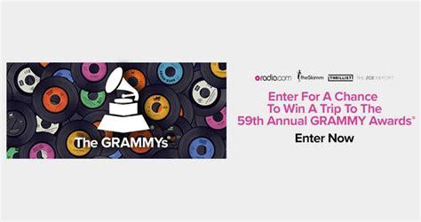 Radio Com Grammys Sweepstakes - sweepstakesmag weekly roundup january 15 january 21 2017