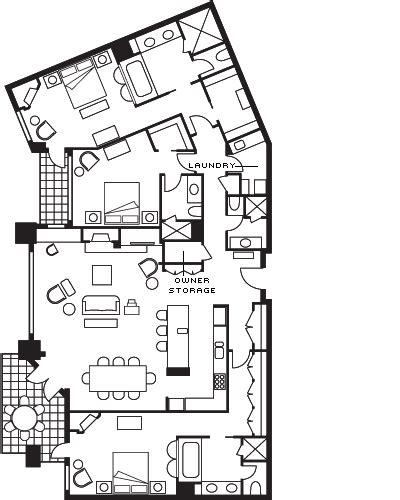 carleton lodge floor plan three bedroom vacation rental in whistler ski lodge