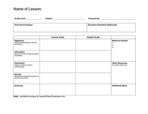 Lesson Plan Calendar Template Lesson Plan Calendar Template Templates Data Lesson Plan Calendar Template