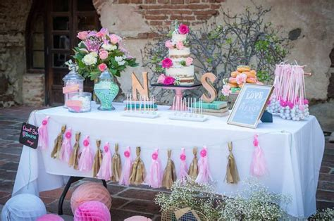 shabby chic wedding shower ideas kara s ideas shabby chic book themed bridal shower