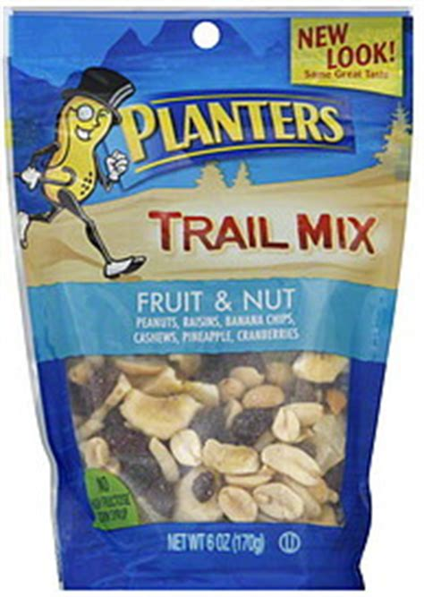 planters trail mix fruit and nut planters nuts trail mixes inderbitzin