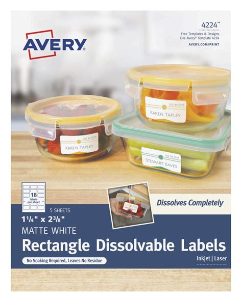 printable dissolvable labels avery rectangle dissolvable labels 1 1 4 x 2 3 8 inches
