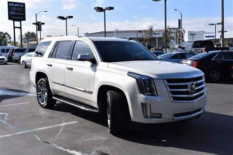 cadillac used suv used cadillac suv for sale near me valencia auto center