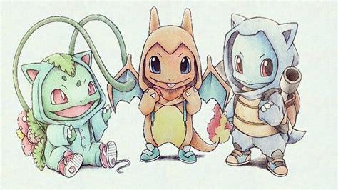wallpaper cute pokemon cute starter pokemon evolutions wallpaper gallery