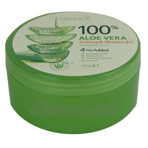 Soothing Gel Aloevera 4packs topface 100 aloe vera soothing moisture gel 10