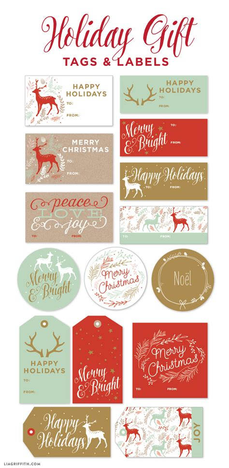 printable labels and tags for gifts worldlabel printable gift labels tags by the lia griffith