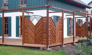 sichtschutz terrasse selber bauen 4678 zaun selber bauen selbst de