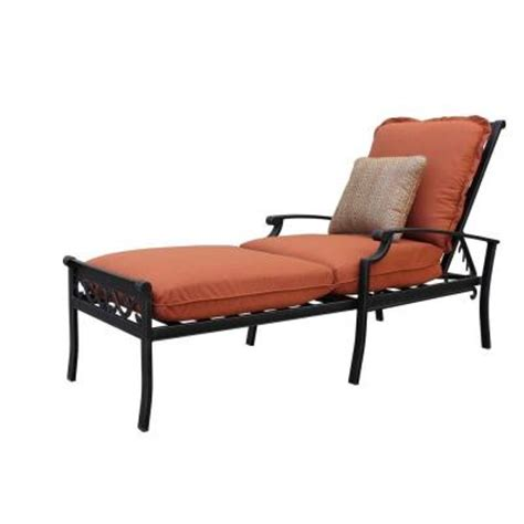 thomasville chaise lounge thomasville messina patio chaise lounge with paprika