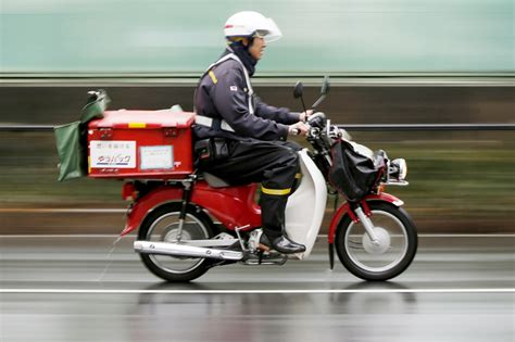Honda Motorcycles Japan by Japan Post Teams With Honda For Electric Motorcycle Postal