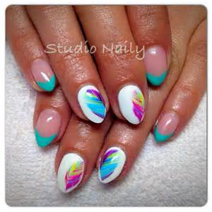 Almond nails nail art designs