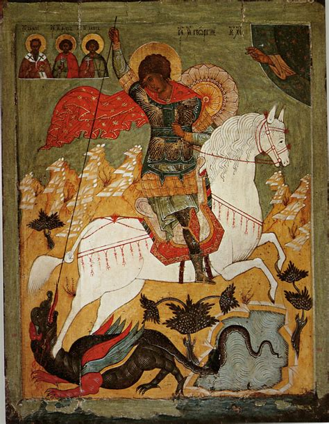 saint george and the dragon in iconography a reader s