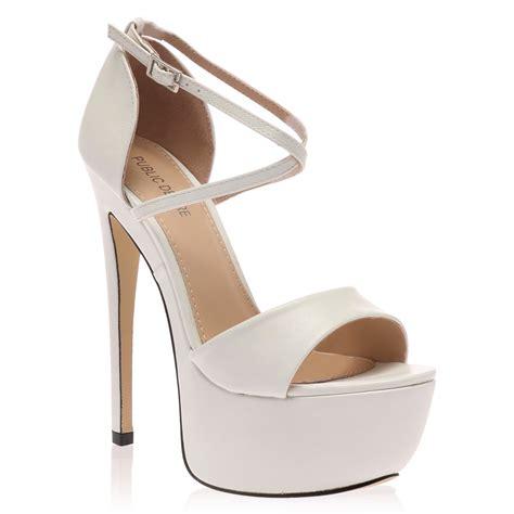 high heels for size 5 peep toe womens platform cross stiletto