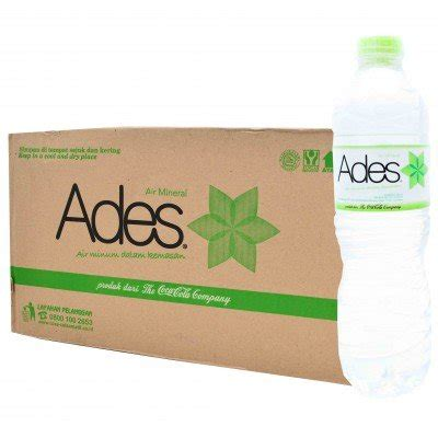 Ades Air Mineral 24 X 600ml jual ades mineral water pet 600ml x 5 di lapak aliscia aliscia