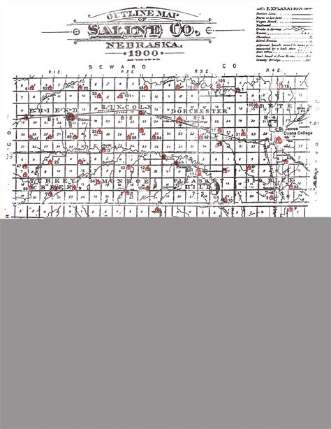 Saline County Records Saline Co Negenweb Project Plat Maps Index