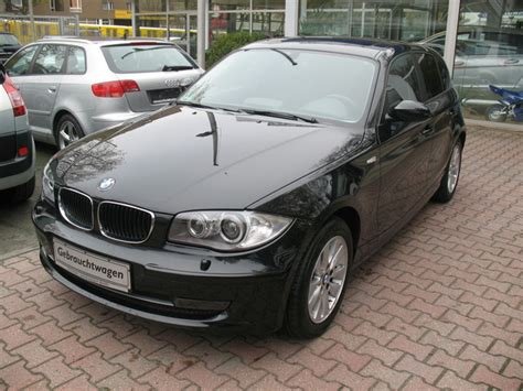 Bmw 1 Series Dpf Price by Lhd Bmw 1 Series 04 2009 Metallic Black Lieu