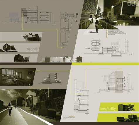 architecture design presentation layout presentation board board layout pinterest layout