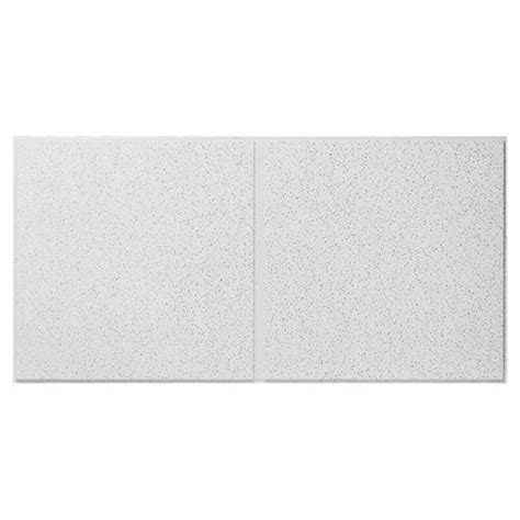 Armstrong Second Look Ceiling Tile by Armstrong Second Look Ii 24 Quot X 48 Quot Fissure Angle Tegular Drop Ceiling Tile At Menards 174