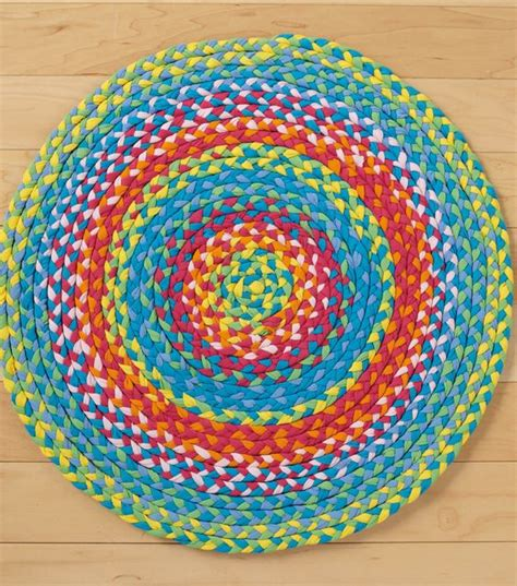 braided tshirt rug no sew braided rug sewing projects and no sew on