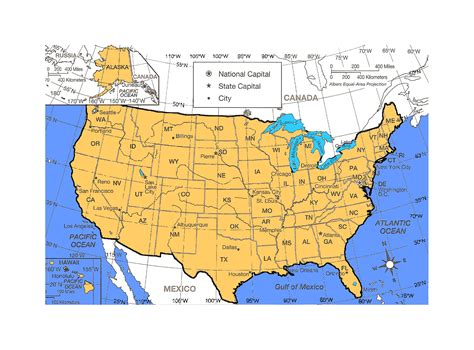 map usa detailed detailed political and administrative map of the united