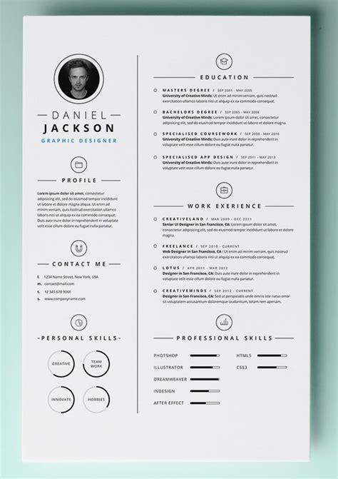 Cv Template For Mac Mac Resume Template 44 Free Sles Exles Format Free Premium Templates