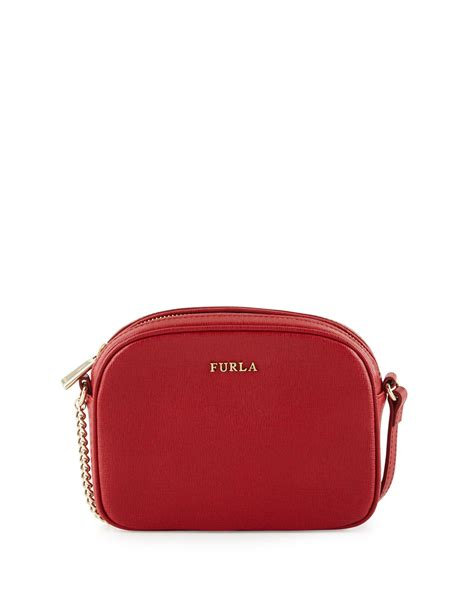 Furla With Pouch furla miky mini leather crossbody bag in lyst