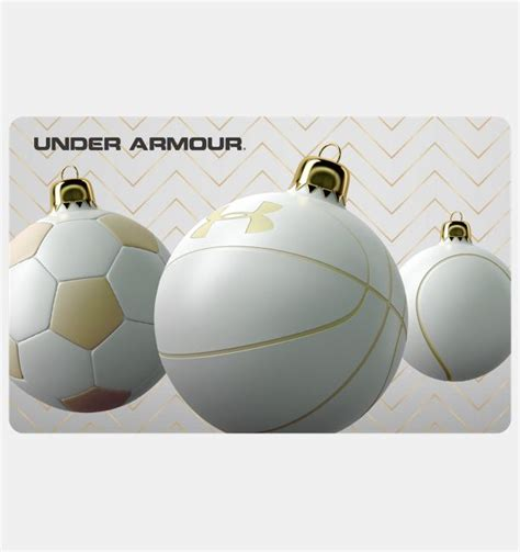 Ua Gift Card - ua gift card under armour us